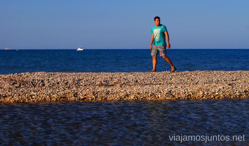 Perdido entre las aguas Las playas de la Costa del Azahar, Castellón, Valencia.