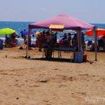 ¿Un masajito? Las playas de la Costa del Azahar, Castellón, Valencia.