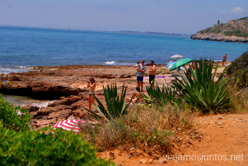 La Renegá Las playas de la Costa del Azahar, Castellón, Valencia.