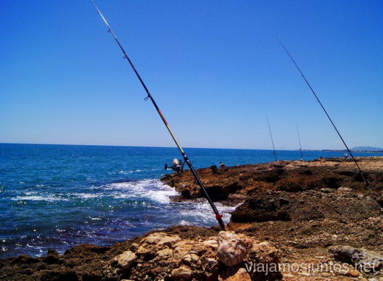 Idílicas calas Las playas de la Costa del Azahar, Castellón, Valencia.