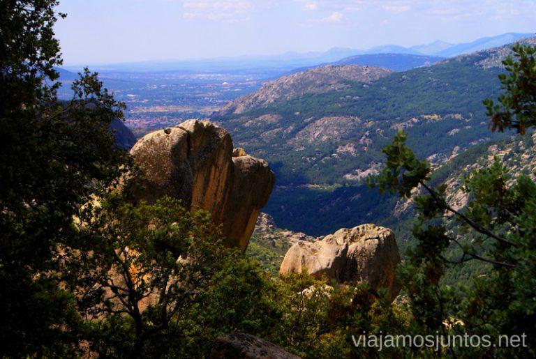 No sé si quiero irme de aquí... El Laberinto, ruta circular en la Pedriza, Madrid Senderismo y Rutas