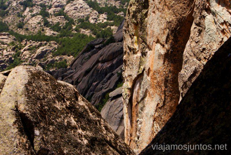 Un poco de vértigo si que da El Laberinto, ruta circular en la Pedriza, Madrid Senderismo y Rutas