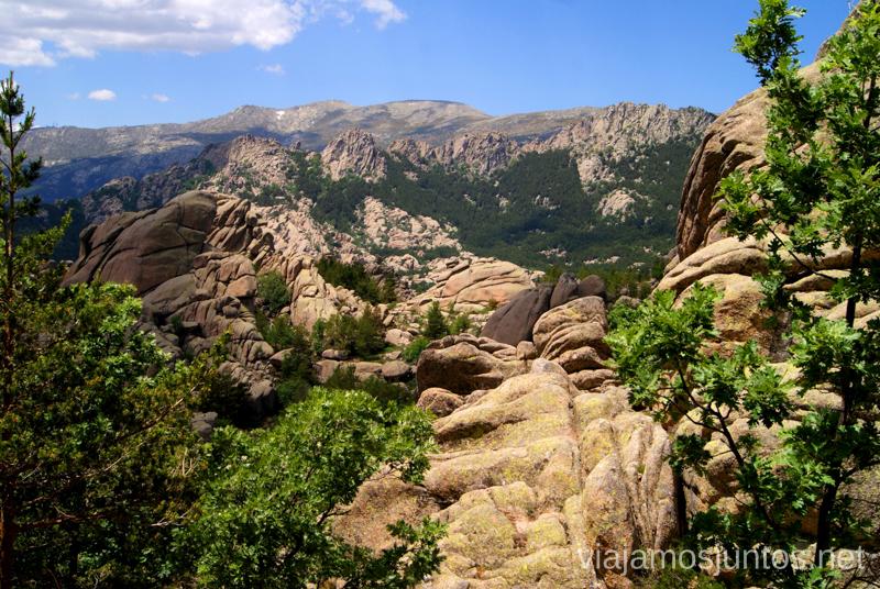 ¿Te sientas conmigo para contemplar la belleza? El Laberinto, ruta circular en la Pedriza, Madrid Senderismo y Rutas