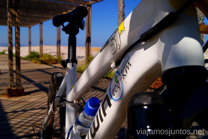 Disfrutando de las bicis Dos rutas en bicicleta en los alrededores de Oropesa del Mar, que hacer en Castellón, Valencia