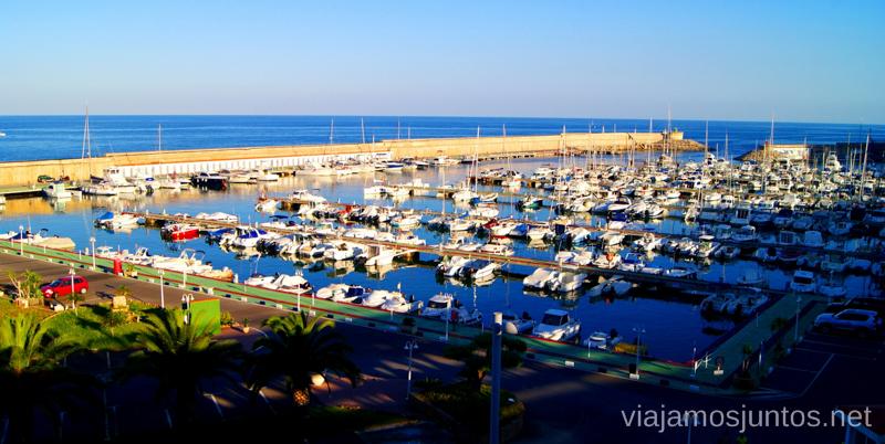 Puerto deportivo de Oropesa Dos rutas en bicicleta en los alrededores de Oropesa del Mar, que hacer en Castellón, Valencia