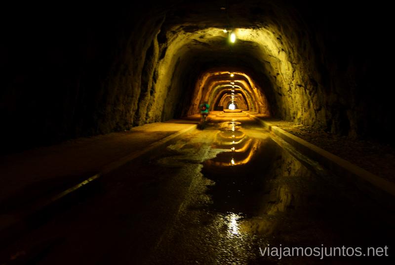 Juegos del túnel Dos rutas en bicicleta en los alrededores de Oropesa del Mar, que hacer en Castellón, Valencia