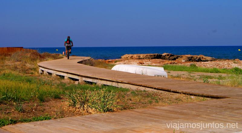 Pedaleando... Dos rutas en bicicleta en los alrededores de Oropesa del Mar, que hacer en Castellón, Valencia