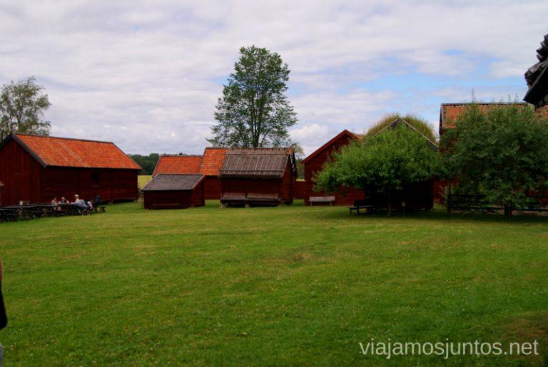 ¡Bienvenidos a Gamla Uppsala! Gamla Uppsala, Uppland, Suecia.
