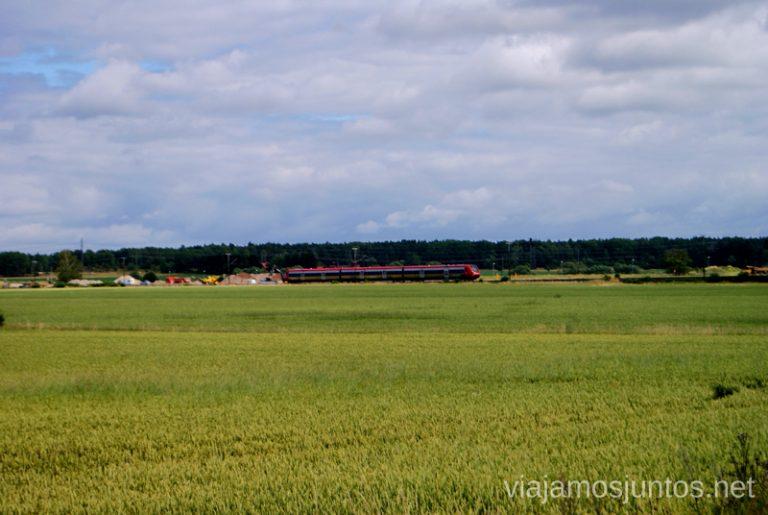Y tú ¿cómo llegarás a Gamla Uppsala? Gamla Uppsala, Uppland, Suecia.