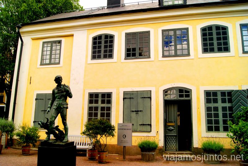La casa ignífuga Que ver y que hacer en Uppsala, Suecia. Atracciones turísticas. Visitas.