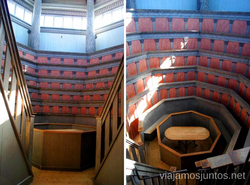 El Teatro Anatómico Que ver y que hacer en Uppsala, Suecia. Atracciones turísticas. Visitas.