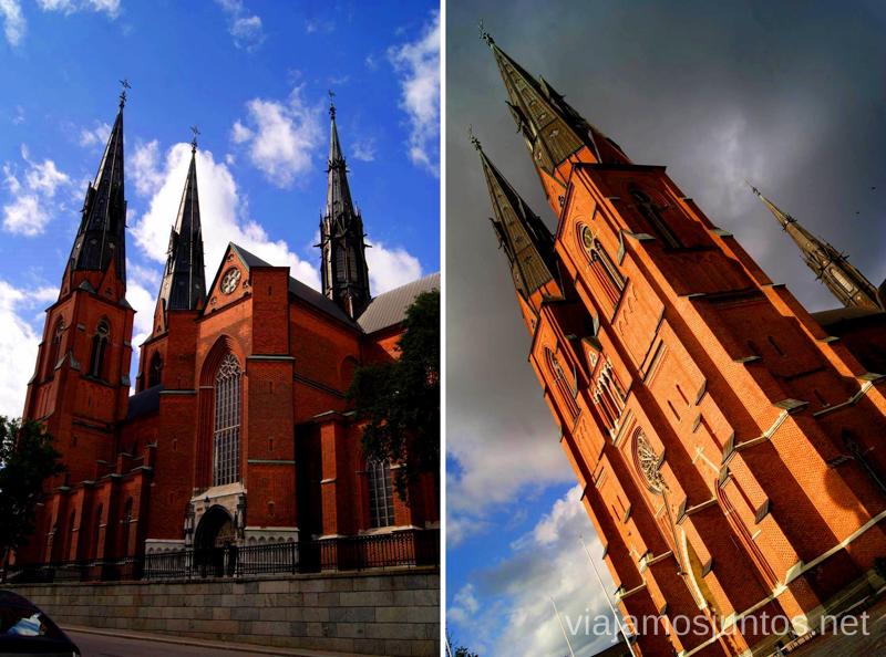 La Catedral de Uppsala Que ver y que hacer en Uppsala, Suecia. Atracciones turísticas. Visitas.