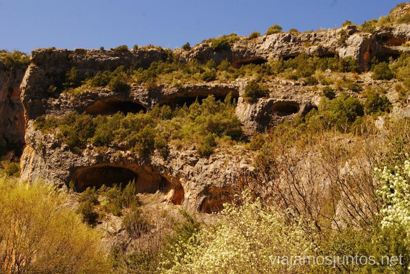 ¿Quién vive en las cuevas? Que ver y que hacer en Alquezar, Huesca, Aragón.