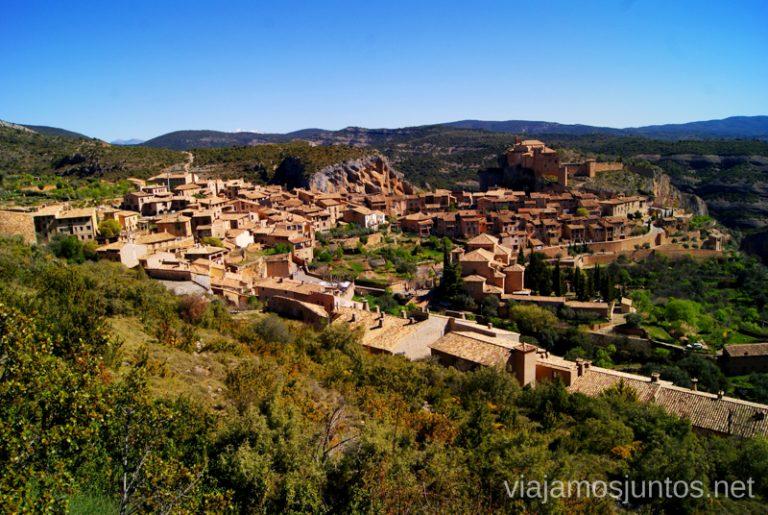 Que ver y que hacer en Alquezar, Huesca, Aragón.
