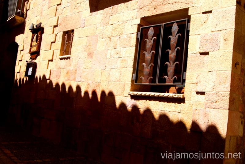 Sombras Que ver y que hacer en Alquezar, Huesca, Aragón.