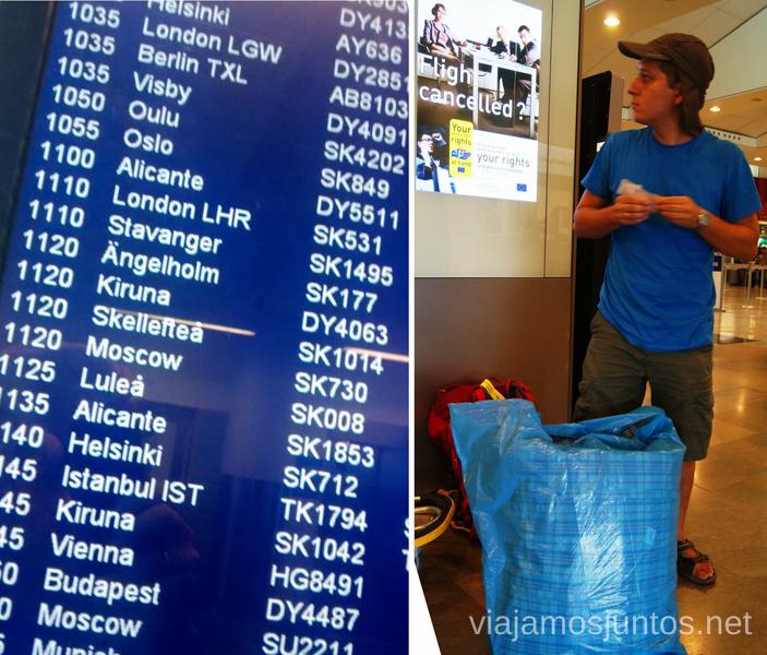 Que hacer en caso de cancelación o retraso del vuelo