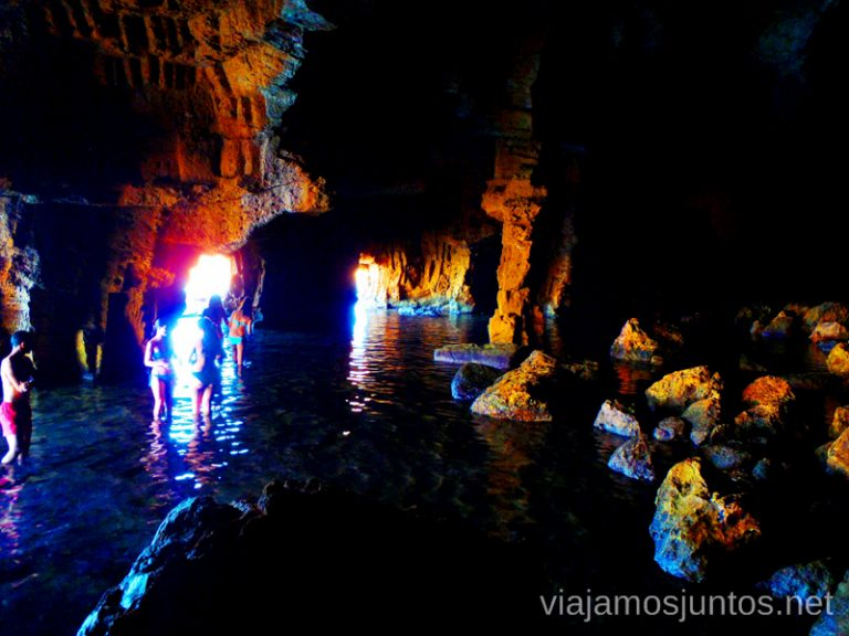 Ruta desde Les Rotes hasta laa Cueva Tallada a pie. Denia. Valencia