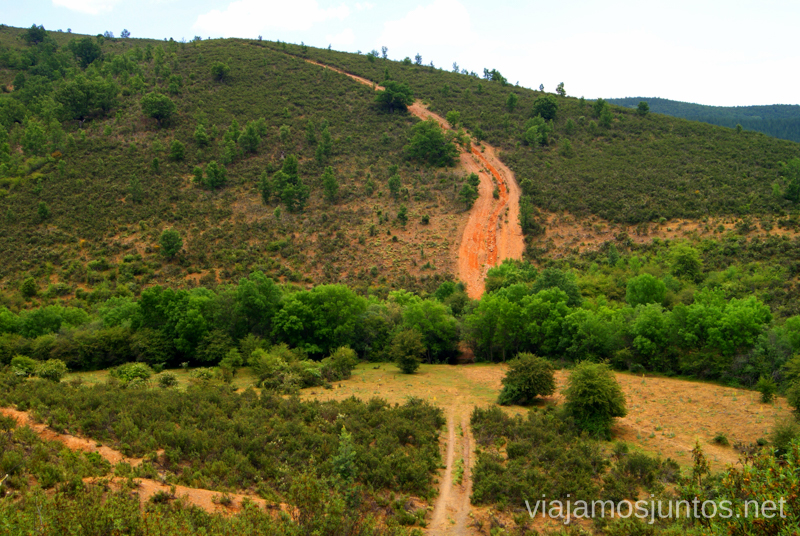 La tremenda bajada Ruta Circular Las Pozas del Aljibe. El Espinar. Pueblos Negros de Guadalajara