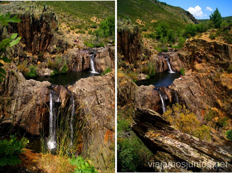 Pozas del aljibe perfectas para un d a de calor pueblos for Piscinas naturales guadalajara