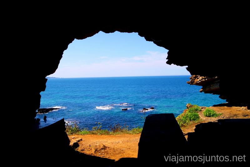Las vistas desde la cueva Ruta de la Cueva Cucabrera, caminando por Cantabria.