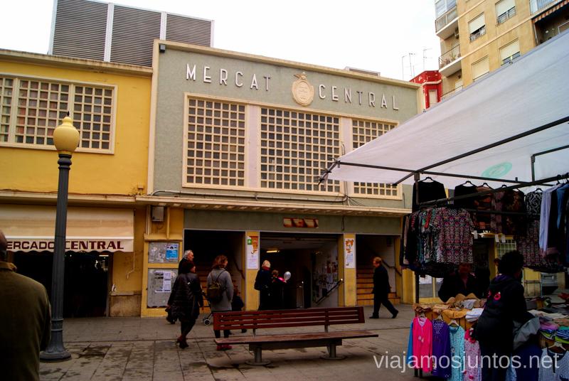 Mercado central Que ver y que hacer en Elche, Alicante, Valencia. Datos prácticos.