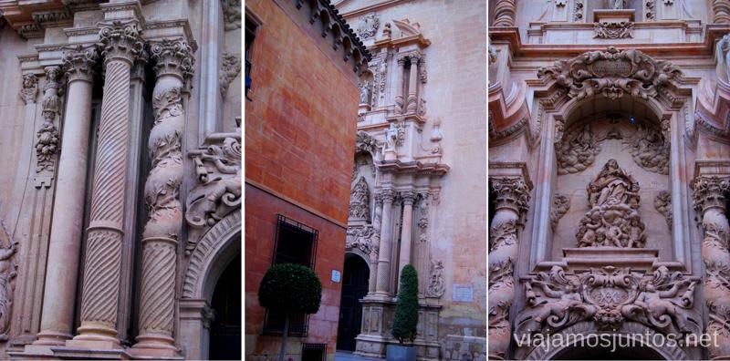 Detalles de la Basílica de Santa María Que ver y que hacer en Elche, Alicante, Valencia. Datos prácticos.