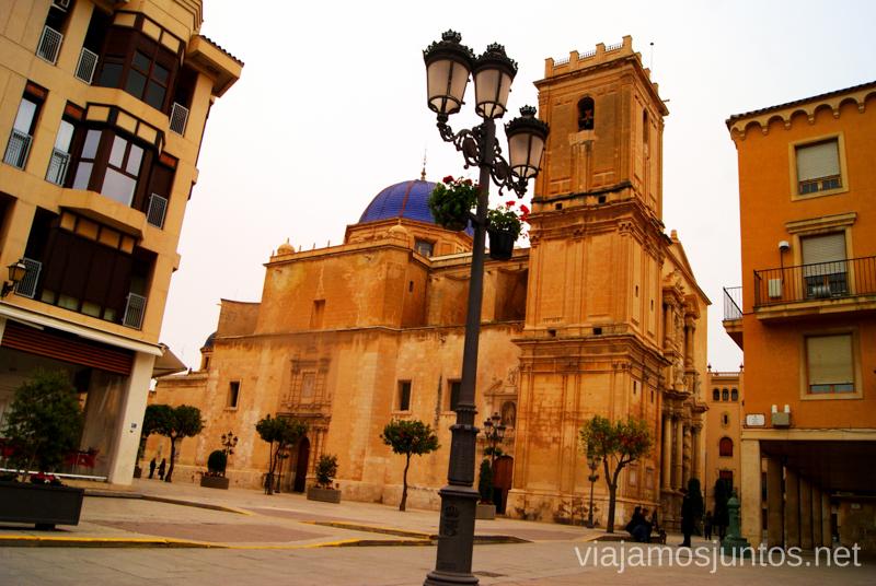 La Basílica de Santa María Que ver y que hacer en Elche, Alicante, Valencia. Datos prácticos.