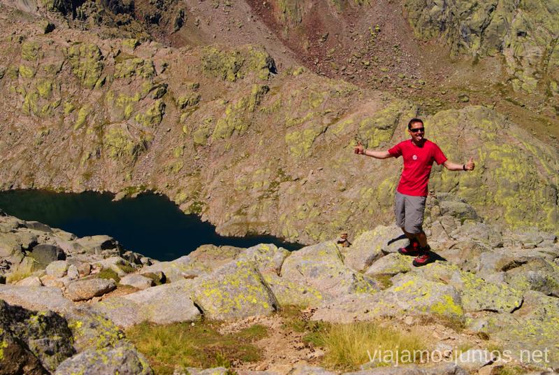 Por fin llegamos a las Cinco Lagunas Trekking de 3 días por Gredos, Castilla y León, historias y anécdotas de la ruta