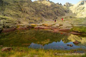 Trampas, reflejos, sorpresas escondidas... Trekking de 3 días por Gredos, Castilla y León, historias y anécdotas de la ruta
