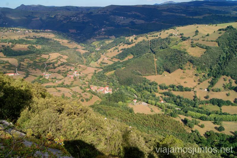 Desde el mirador de Aja Ruta circular en coche alrededor del Valle de Soba, Cantabria
