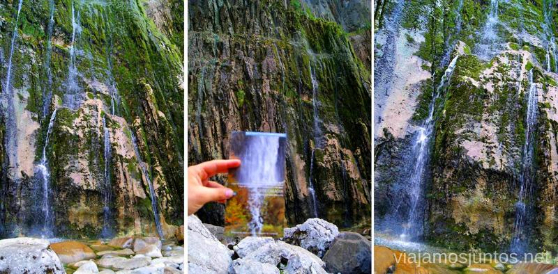 La cascada del Asón Ruta circular en coche alrededor del Valle de Soba, Cantabria