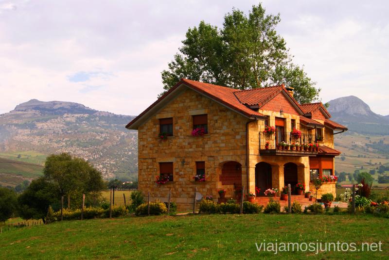 La Gándara Ruta circular en coche alrededor del Valle de Soba, Cantabria