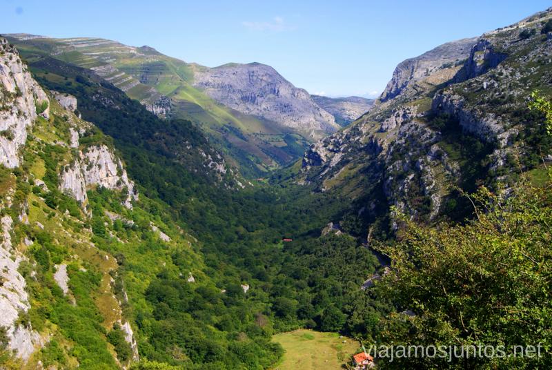 Desde el mirador Ruta circular Vuelta a Colina, Parque Natural de los Collados del Asón, Cantabria
