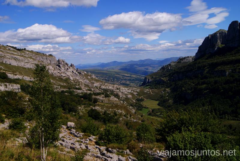Y más vistas Ruta circular Vuelta a Colina, Parque Natural de los Collados del Asón, Cantabria
