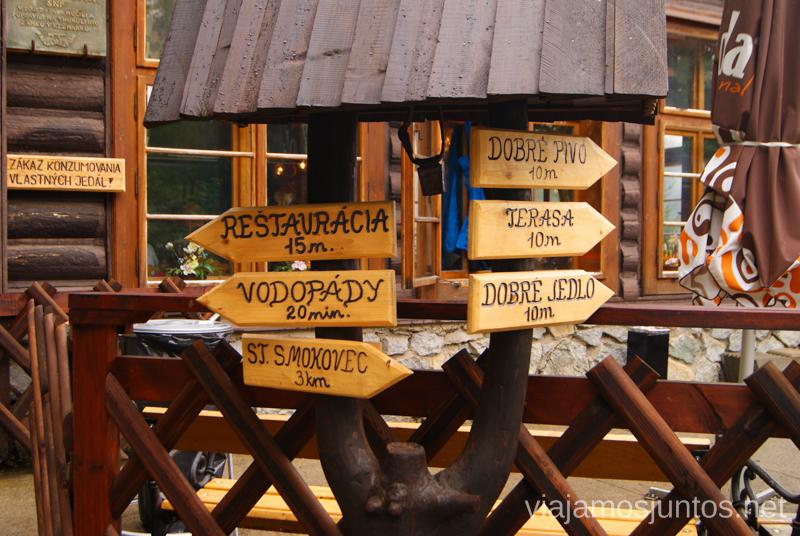 ¿Qué dirección eliges tú? Trekking en Altos Tatras, diario de la travesia. Eslovaquia #EslovaquiaJuntos High Tatras Vysoké Tatry Slovakia