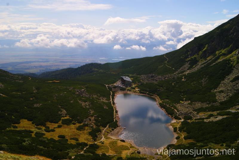 Velické Pleso (Lago Grande) y Sliezsky Dom Trekking en los Altos Tatras, Eslovaquia High Tatras, Slovaquia #EslovaquiaJuntos Parte III Diario