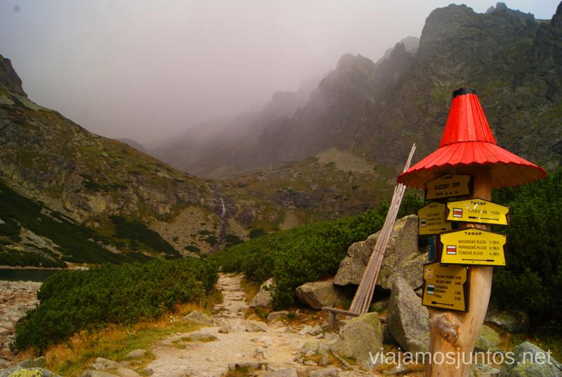 Marcas del camino Trekking en los Altos Tatras, Eslovaquia High Tatras, Slovaquia #EslovaquiaJuntos Información práctica