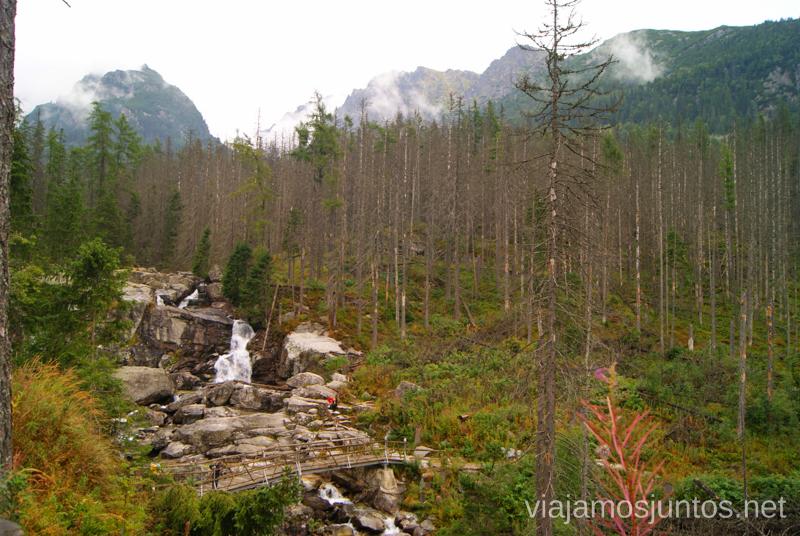 ¡A seguir la ruta! Trekking en los Altos Tatras, Eslovaquia High Tatras, Slovaquia #EslovaquiaJuntos Información práctica