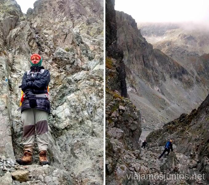 Meditando... después de la ferrata y antes de las piedras sueltas Trekking en los Altos Tatras, Eslovaquia High Tatras, Slovaquia #EslovaquiaJuntos Parte III Diario