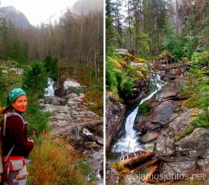 Cascadas de Eslovaquia Trekking en Altos Tatras, diario de la travesia. Eslovaquia #EslovaquiaJuntos High Tatras Vysoké Tatry Slovakia