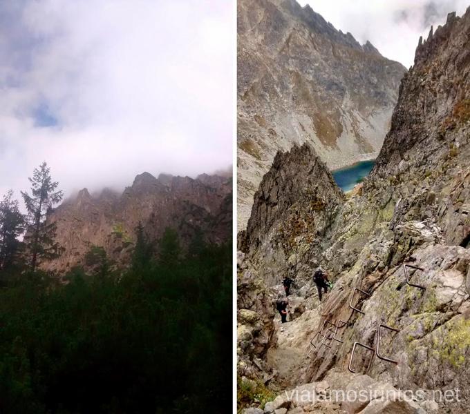 Complicaciones técnicas Trekking en los Altos Tatras, Eslovaquia High Tatras, Slovaquia #EslovaquiaJuntos Información práctica