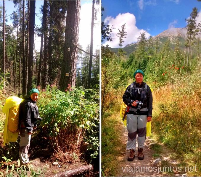 Ropa y equipaje Trekking en los Altos Tatras, Eslovaquia High Tatras, Slovaquia #EslovaquiaJuntos Información práctica