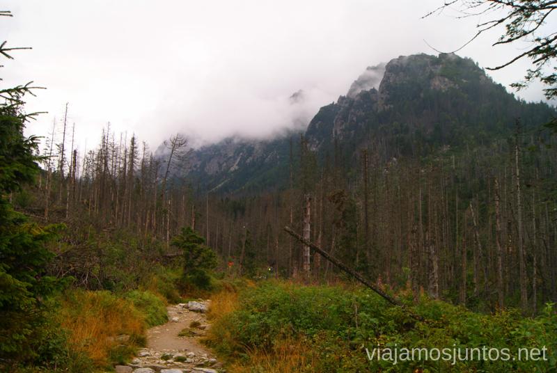 Seguimos... Trekking en Altos Tatras, diario de la travesia. Eslovaquia #EslovaquiaJuntos High Tatras Vysoké Tatry Slovakia