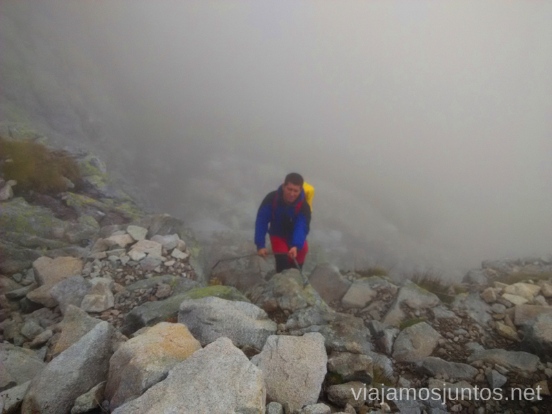Primera ferrata en la niebla Trekking en Altos Tatras, diario de la travesia. Eslovaquia #EslovaquiaJuntos High Tatras Vysoké Tatry Slovakia