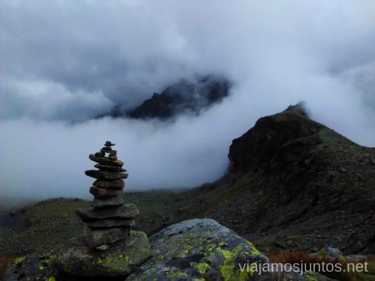 Señalización de las rutas en la montaña Trekking en los Altos Tatras, Eslovaquia High Tatras, Slovaquia #EslovaquiaJuntos Información práctica