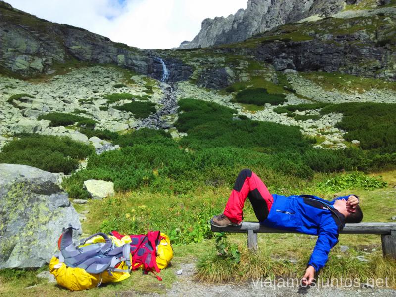 Nuestras mochilas de trekking Trekking en los Altos Tatras, Eslovaquia High Tatras, Slovaquia #EslovaquiaJuntos Información práctica