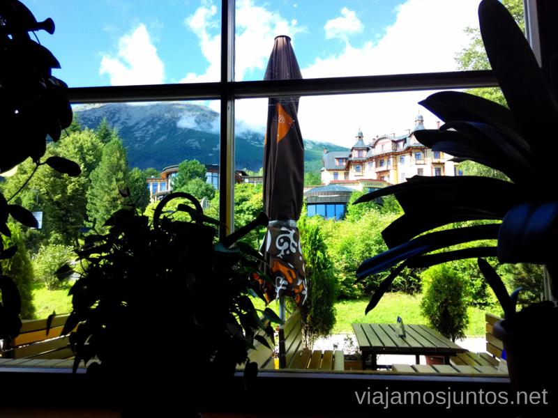 Vistas desde el Buffet, Stary Smokovec Trekking en los Altos Tatras, Eslovaquia High Tatras, Slovaquia #EslovaquiaJuntos Información práctica