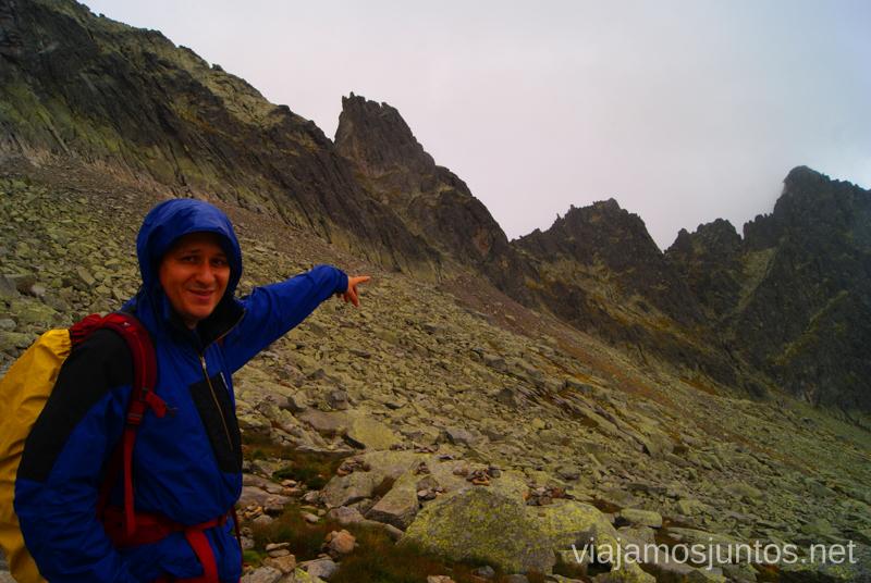 Por allí acabamos de pasar... Priecne Sedlo Trekking en los Altos Tatras, Eslovaquia High Tatras, Slovaquia #EslovaquiaJuntos Parte III Diario