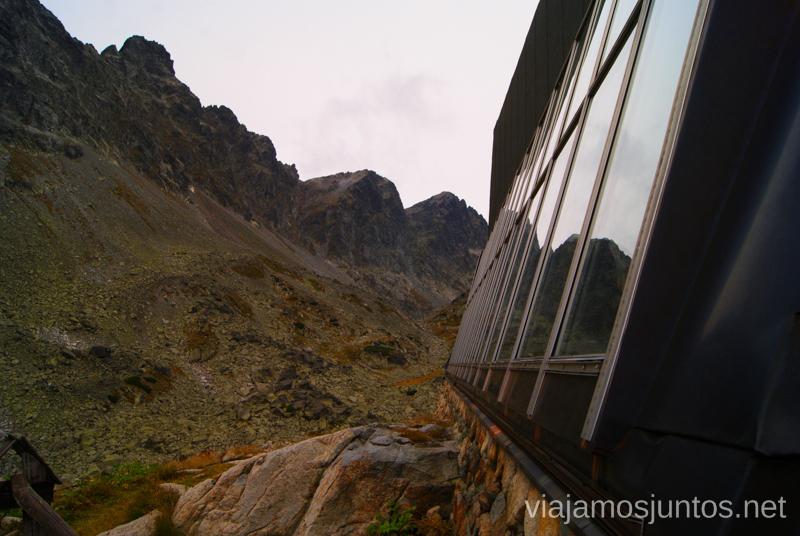 Refugio Zbojnicka Chata Trekking en los Altos Tatras, Eslovaquia High Tatras, Slovaquia #EslovaquiaJuntos Parte III Diario