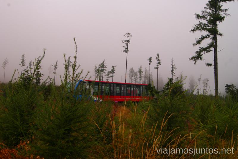 Funicular Trekking en Altos Tatras, diario de la travesia. Eslovaquia #EslovaquiaJuntos High Tatras Vysoké Tatry Slovakia